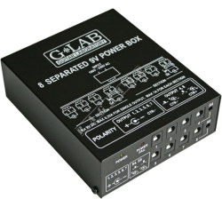 G-Lab-8 Separated 9V Power Box PB-1 - multi zasilacz
