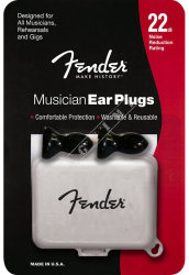 Fender Musican Black Ear Plugs - zatyczki do uszu