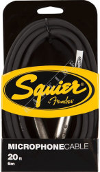 Squier 20' Microphone Cable - kabel mikrofonowy