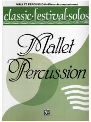 Classic Festival Solos for Mallet Percussion and Piano - nuty