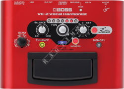 Boss VE 2 Vocal Harmonist - procesor wokalowy