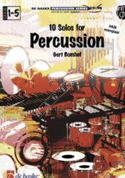 10 Solos for Percussion, Bomhof - nuty