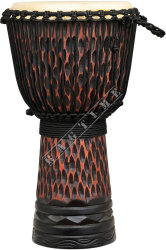 Ever Play Dapro 50 10 Djembe Full Rough Carving - djembe
