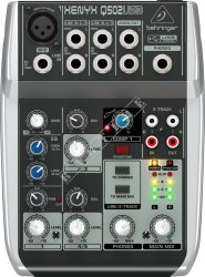 Behringer Q502USB Xenyx - mikser analogowy