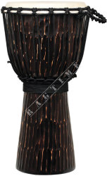 Ever Play DA 50 3 Djembe Jammer Rough Chocolate - djembe