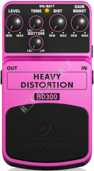 Behringer HD300 Heavy Distortion - efekt gitarowy
