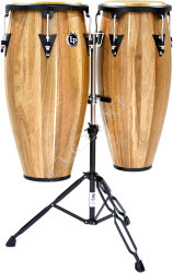 Latin Percussion LPA647B SW Aspire Jamjuree Conga Set 11 + 12""