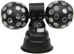 Flash Led Double Ball 2x9W