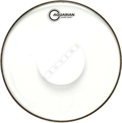 "Aquarian 14"" Classic Clear w/Power Dot - naciąg do perkusji"