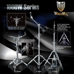 World Max H1000W - statyw pod hi-hat