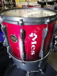Mes MPZ1412 #51 Midnight Black Marching Snare - werbel marszowy