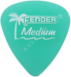 Fender California Clear Pick 351 Surf Green Medium - piórko do gitary