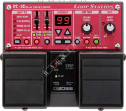 Boss RC 30 Loop Station - looper gitarowy