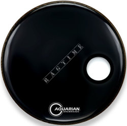 "Aquarian 18"" SMPTTC Classic Clear Black - naciąg do perkusji"