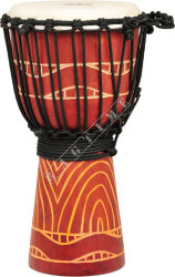 Ever Play DA 40 8T Djembe Jammer Topografi Red - djembe