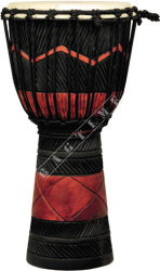 Ever Play DA 50 RB SQ Djembe Jammer Red Black Squa - djembe