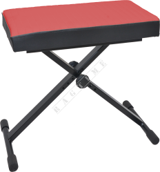 T-Stand T5R Red - ława do pianina, keyboardu