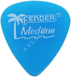 Fender California Clear Pick 351 LP Blue Medium - piórko do gitary