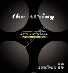 Sandberg Strings 60-128 - struny do gitary basowej