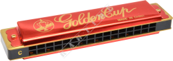 Golden Cup JH 016-1 Red D - harmonijka ustna