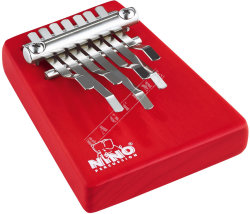 Nino NINO964R Kalimba Medium Red - kalimba