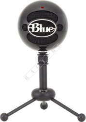 Blue Snowball USB Black - mikrofon USB