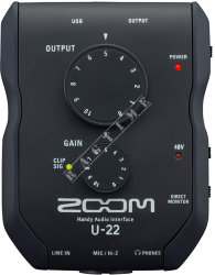 Zoom  U22 - interface audio