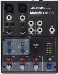 Alesis MultiMix 4 USB - mikser analogowy