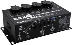 Eurolite ESX 4 DMX - 4-kanałowy switch-pack