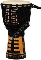 Ever Play DA 40 7A Djembe Jammer Acoban Black - djembe