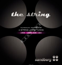 Sandberg Strings 65-130 - struny do gitary basowej