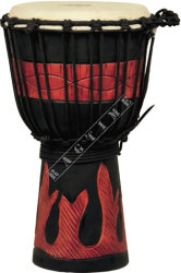 Ever Play DA 40 RB FR Djembe Jammer Red Black Fire - djembe