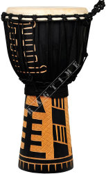 Ever Play DA 50 7A Djembe Jammer Acoban Black - djembe
