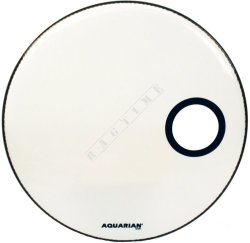 "Aquarian 18"" SMPTTC Classic Clear White - naciąg do perkusji"