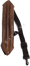 Perri's 7087 Sax Strap Leather - pasek do saksofonu