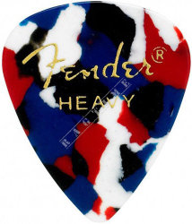 Fender Classic Pick 351 Confetti Heavy - piórko do gitary