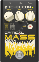 TC Helicon Critical Mass - multiefekt wokalowy/gitarowy