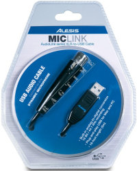 Alesis MicLink - interfejs USB - kabel mikrofonowy