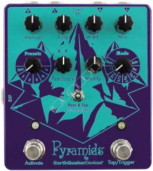 EarthQuaker Devices Pyramids Stereo Flanging Device - efekt gitarowy