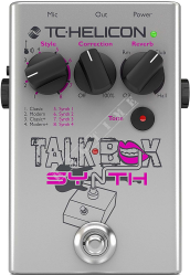 TC Helicon Talkbox Synth - multiefekt wokalowy