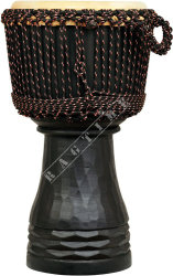 Ever Play ESP 50 1 Djembe Wood Elite Pro Black - djembe