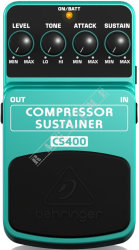 Behringer CS400 Compressor/Sustainer - efekt gitarowy