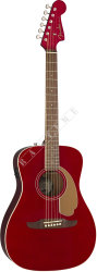 Fender Malibu Player Candy Apple Red WN