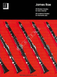 40 Modern Studies for Clarinet - James Rae