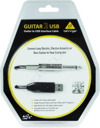 Behringer Guitar 2 USB - interfejs USB do gitary