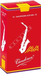 Vandoren Alt Java Red 1,0 - stroik do saksofonu altowego