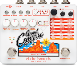 Electro Harmonix Grand Canyon Delay & Looper - efekt gitarowy