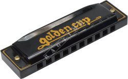 Golden Cup JH 1020-1 Black Bb - harmonijka ustna