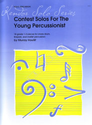 Contest Solos for the Young Percussionist, Houlif, Murray - nuty