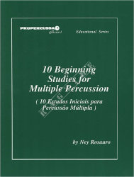 10 Beginning Studies for Multiple Percussion, Ney Rosauro - nuty
